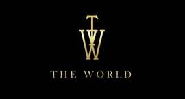 THE WORLDのロゴ