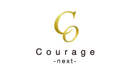 Courage-next-のロゴ