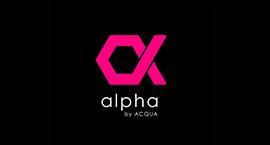 alpha by ACQUAのロゴ