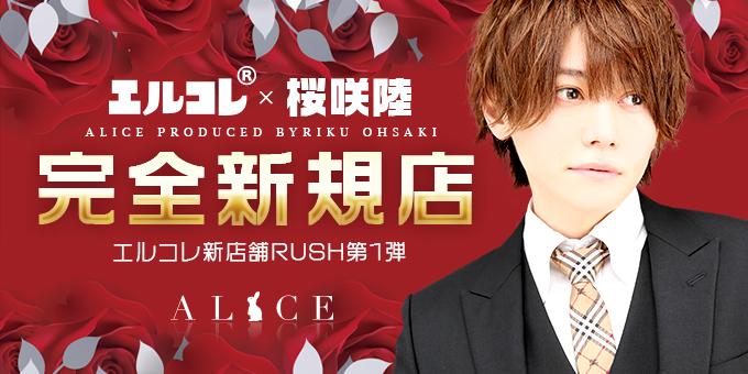 歌舞伎町ホストクラブALICEの求人宣伝。