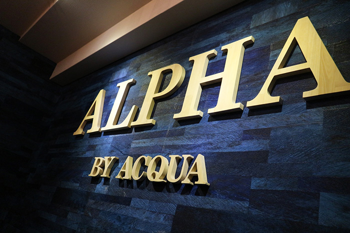 alpha by ACQUAの店内写真9