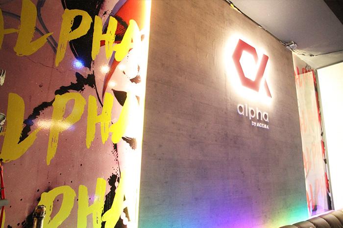 alpha by ACQUAの店内写真1
