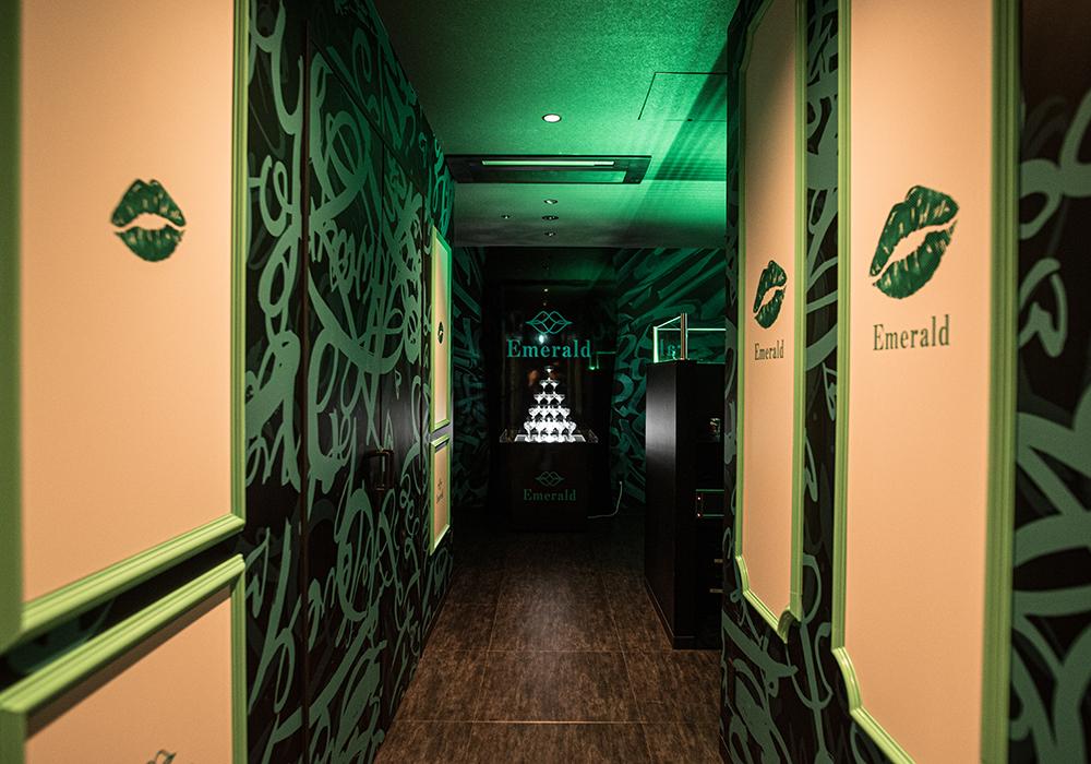 Emeraldの店内写真3