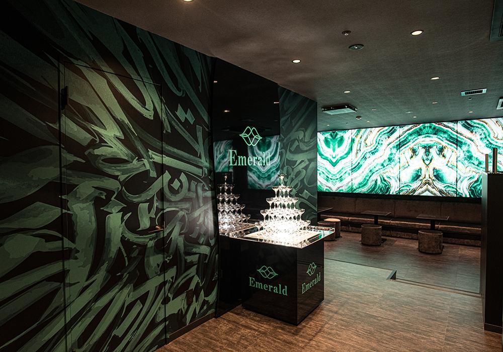 Emeraldの店内写真5